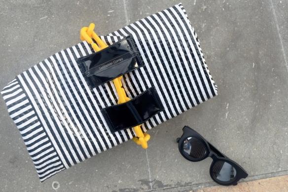 Denim tendencias look danielastyling street style colombiamoda accesorios