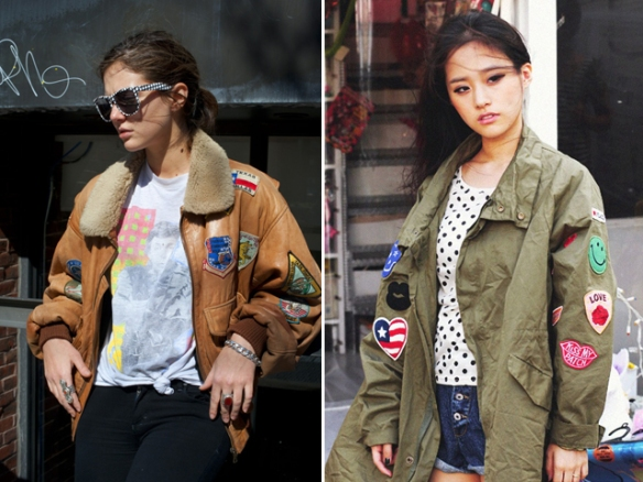 alerta tendencia - parches - colombia - danielastyling - outfit denim patch jackets