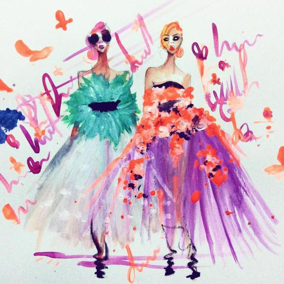 canteroink - ilustracion de moda en colombia - fashion illustrator - danielastyling 2
