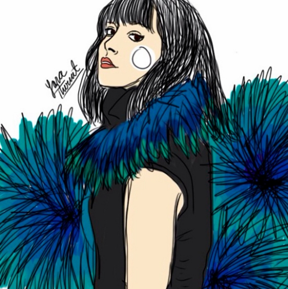 Yara thiriat - ilustracion de moda en colombia - fashion illustrator - danielastyling 4