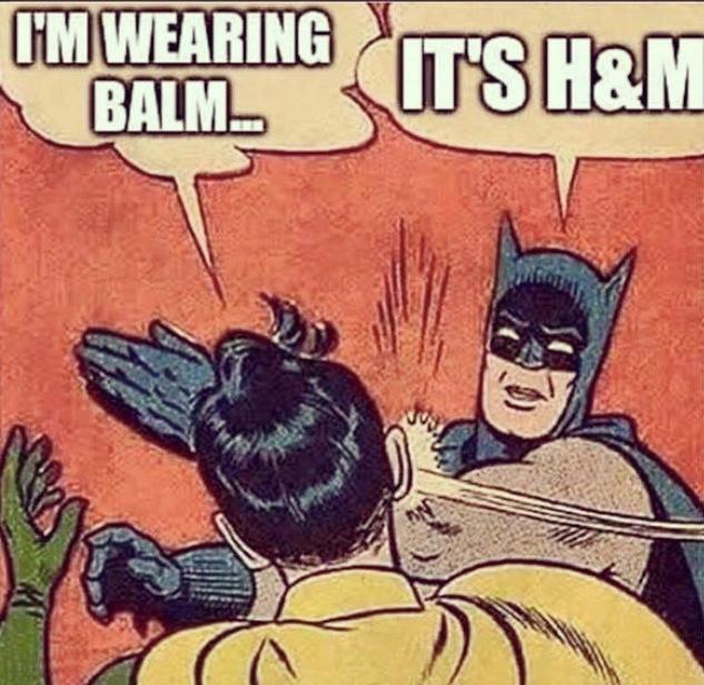 Balmain - H&M coleccion balmain - lujo - danielastyling - caos balmain meme