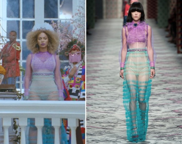 FORMATION BEYONCE - STYLING - CLOTHING BEYONCE - DANIELASTYLING - BLOG DE MODA - BLOG COLOMBIANO LOOK GUCCI 1