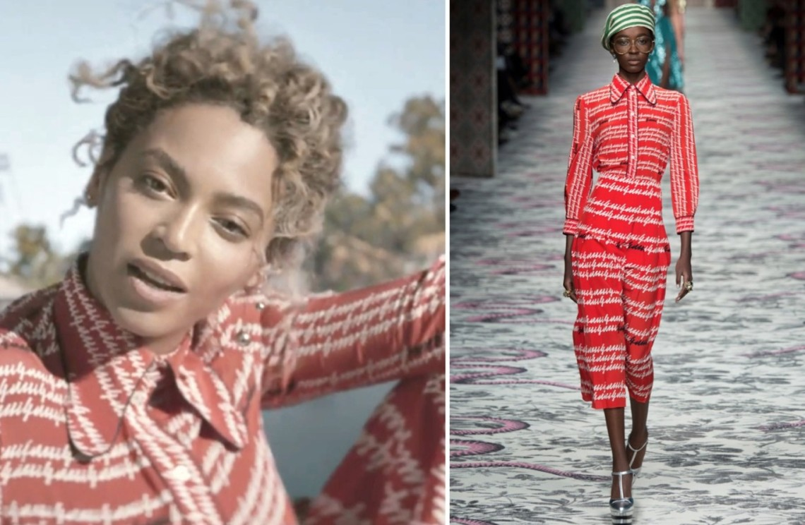 FORMATION BEYONCE - STYLING - CLOTHING BEYONCE - DANIELASTYLING - BLOG DE MODA - BLOG COLOMBIANO LOOK GUCCI