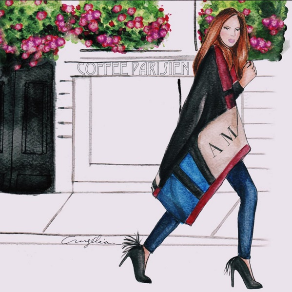 ilustraciones de moda - blog de moda - blog colombiano - danielastyling - angelica moreno
