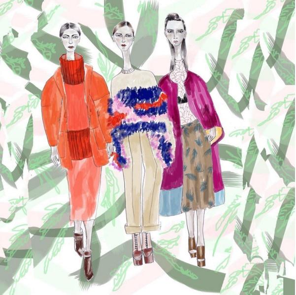ilustraciones de moda - blog de moda - blog colombiano - danielastyling - natalia minds 1